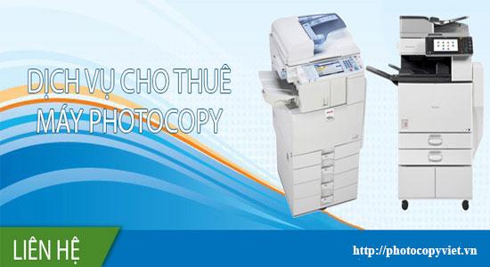 Bán máy photocopy cho thuê ở Gò Vấp - Ninh Thuận